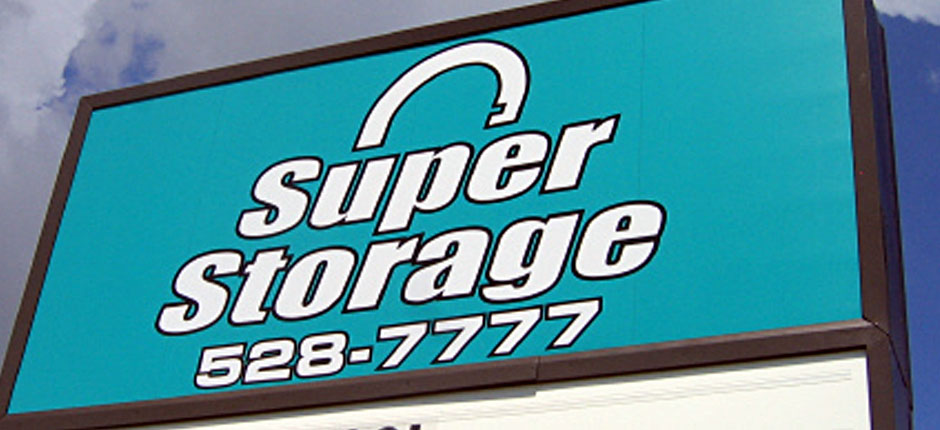 Super Storage St Pete Sign